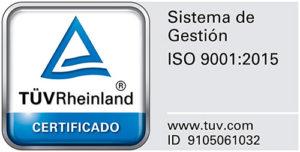 Sello ISO 9001:2015